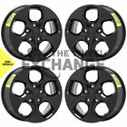 17 Dodge Grand Caravan Journey black wheels rims Factory OEM set 4 2590
