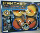 World Tech Toys Panther SPY Drone UFO Video Camera 24GHz RC Quadcopter NEW