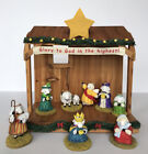 2005 Dayspring Cards Really Woolly Sheep Pageant Nativity Set 10 Pieces