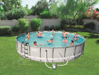 Bestway Power Steel 14 x 42 Frame Swimming Pool Set with Pump FREE SHIPPING