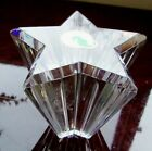 Waterford Crystal SHINING STAR Paperweight Made in Ireland Free shipping NWOB