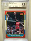 1986-87 Fleer #57 Michael Jordan RC Rookie BGS 9.5 Gem Mint Plus