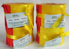 4 Tonal Jelly Rolls by Fabric Palette 20 pcs 25x42 Cotton Oranges  Yellows