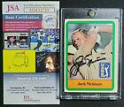 Jack Nicklaus Cards and Autograph Memorabilia Guide 8