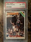 1975-76 TOPPS MOSES MALONE #254 PSA 8 NM-MT RC HOF DEAD-CENTERED!!