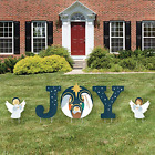 Big Dot of Happiness Holy Nativity Yard Sign Outdoor Lawn Decorations Manger