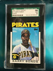 1986 Topps Traded Barry Bonds #11T Rookie SGC 98 = PSA 10 LOW POP OLD SGC LABEL