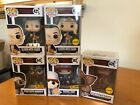 Funko Pop Lot of 5 Stranger Things Chase Eleven exclusives set #421 428 593 642