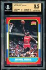 Michael Jordan 1986-87 Fleer #57 RC BGS 9.5 Gem Mint Rookie Card Quad 9.5 Subs
