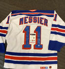 MESSIER New York Rangers Signed Autographed Vintage JERSEY w COA 94 Cup Notes