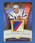 2006 Upper Deck Tom Brady Exquisite Patch Game Used 30 4-color Patriots EP-TO