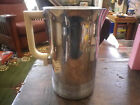 Chase Art Deco Chrome and Bakelite Pitcher and Six Glasses