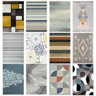 Contemporary Area Rugs Crystal Velvet Printed Floor Mat Soft Home Carpet 5 Sizes