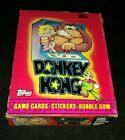 1982 TOPPS DONKEY KONG UNOPENED WAX BOX - RIGHT FROM CASE!