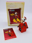 2005 Hallmark Keepsake Ornament Santa Beagle And Friends Snoopy Woodstock