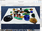 Tiffany Favrile Glass Jewels and Tile Collection