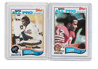 1982 Topps Lawrence Taylor #434 Ronnie Lott #486 Football Rookie cards