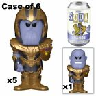 Funko Vinyl Soda THANOS The Avengers New Factory Sealed CASE OF 6 WITH CHASE