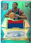 JOEL EMBIID 2014 PANINI SPECTRA ROOKIE AUTO AUTOGRAPH JERSEY PRIZM CARD #8 99!