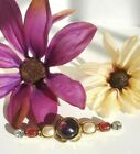 CHANEL Paris Couture 1985 GRIPOIX Purple Red Poured Glass Pearl Brooch Pin RARE