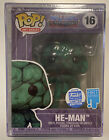 Funko Pop! Master Of The Universe Art Series Shop Exclusive - He-man #16