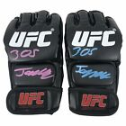 JORGE MASVIDAL SIGNED 'MIAMI VICE' EDITION UFC GLOVES (JSA WITNESS)