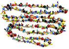 VINTAGE MULTI COLOR GLASS BEAD NECKLACE