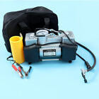 12V Heavy Duty Portable Air Compressor Car Tire Inflator Electric Pump Auto US