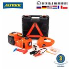 Car repair kit 3 in 1 electrical jack 12V 5T7716lb hydraulic tire inflator led