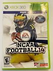 NCAA Football 14 (Xbox 360, 2013) - Tested - Excellent Condition