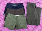 Womens Size 8 shorts pants 4 Lot old navy New York and company