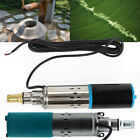 4800 rpm 12V Submersible Pump Deep Well Water DC Pump Stainless Steel 180W New