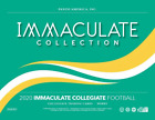 2020 Panini Immaculate Collegiate Football Hobby Box NEW SEALED