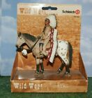 Sioux Native American Chief on Horse by Schleich Wild West Series 2005