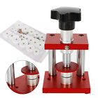 Crystal Bezel Press Case Back Closing Bench Stand Watch Capping Repair 20 Dies