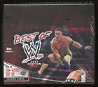 2013 Topps Best of WWE Wrestling FACTORY SEALED HOBBY BOX