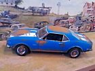 118 Scale Die Cast Custom Weathered  Rusted Blue 1968 Chevy Camaro Z 28
