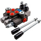 Double Spool Hydraulic Directional Valve 11GPM for Log Splitters Small Tractor