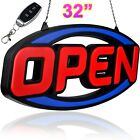 Very Large LED Neon Open Sign Light for Restaurant Bar Club Shop Store Business