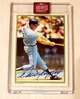 DALE MURPHY 2019 TOPPS ARCHIVES SIGNATURE SERIES AUTO AUTOGRAPH CARD #23 23!