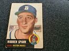 Warren Spahn Cards, Rookie Cards and Autographed Memorabilia Guide 9