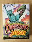 1988 Topps Dinosaurs Attack Wax Box, Unopened, Clean Box, 48 ct.