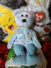 TY Beanie Baby ~ ISSY CARACAS Bear #4404 2001 New with TAG PROTECTOR Retired