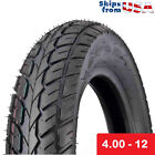 MMG Scooter Tubeless Tire 400 12 Front Rear Motorcycle Moped 12 Rim