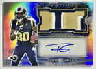 2015 Topps Platinum TODD GURLEY Rookie Patch Auto RPA Holo 40 Rams & Falcons