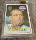 1969 Topps Archives Buyback ORLANDO CEPEDA #'d 3 3 Auto Autograph SF Giants