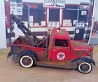 118 Scale Diecast Custom Weathered  Rusted TEXACO Red 1936 Ford Tow Truck