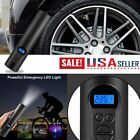Electric Air Pump Wireless Tire Inflator Car Bike Bicycle Auto Car W LED Light