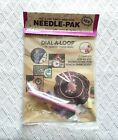 Punch Embroidery Needle Pak Pretty Punch Dial A Loop Needle Threader and