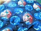 LIZ KIDRICK DILLON COTTON FABRIC QUILTING TREASURES NATIVITY SCENES BLUE SKY 3YD